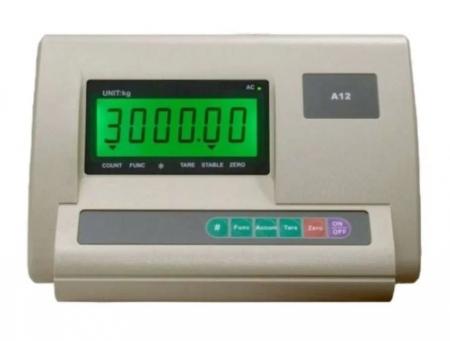 Cantar electronic platforma 3000 kg ( 3 tone ), tabla striata 5mm, 100 x 100cm ( 1m x 1m ) [1]