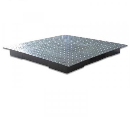 Cantar electronic platforma 3000 kg ( 3 tone ), tabla striata 5mm, 100 x 100cm ( 1m x 1m ) [4]