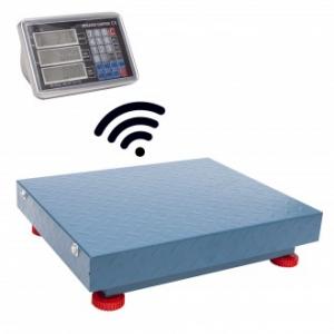 Cantar electronic 600kg Wi-Fi, fara fir, tabla groasa, Wireless0