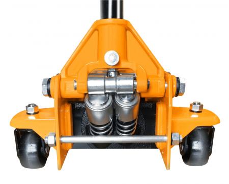Cric hidraulic tip crocodil, 3 tone, 2 cilindri, Tolsen 65464 [1]