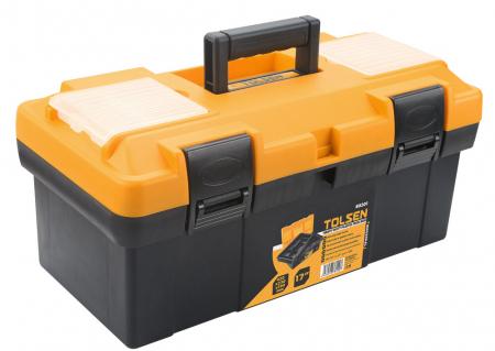 Cutie din material plastic pentru scule si unelte, 420X230X190 MM, Tolsen 80201 [0]
