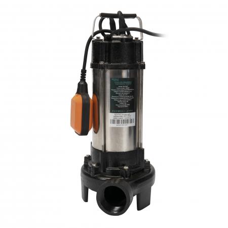 Pompa apa submersibila WQD1500DF 1500W cu tocator si plutitor Detoolz DZ-P107 [0]