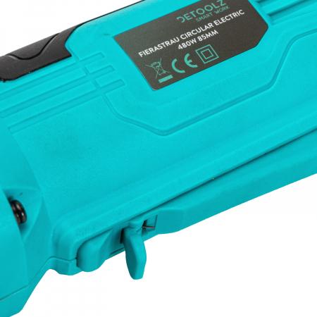 Fierastrau circular electric 480W 85mm Detoolz DZ-SE101 [3]