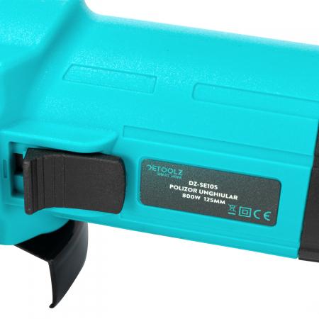 Polizor unghiular 800W 125mm Detoolz DZ-SE105 [7]