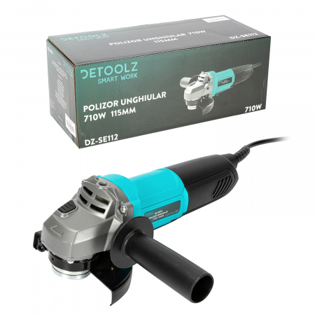 Polizor unghiular 710W 115mm Detoolz DZ-SE112 [3]