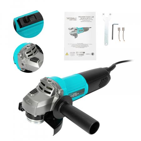 Polizor unghiular 710W 115mm Detoolz DZ-SE112 [4]