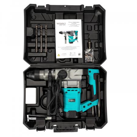 Ciocan rotopercutor 1500W, valiza transport + accesorii, Detoolz DZ-SE118 [4]