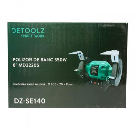 """Polizor de banc 350W 8"""" MD3220S Detoolz DZ-SE140 [3]"""