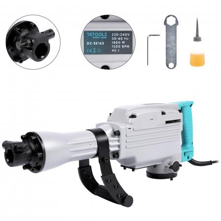 Ciocan Demolator Detoolz DZ-SE163, 1600W, 1500bpm, 45J [0]