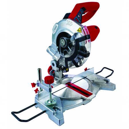 Ferastrau circular RAIDER ø210mm 1200W laser cu taiere la unghi RD-MS21 [0]