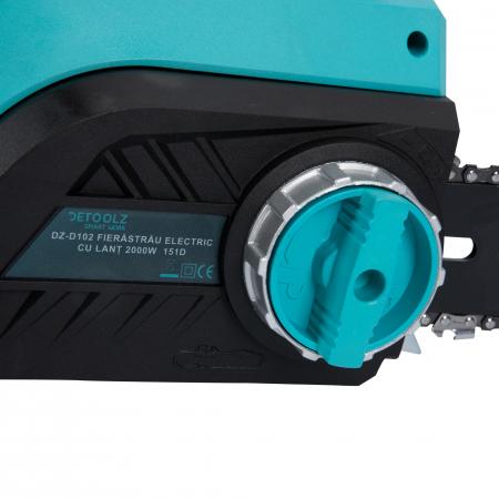 Fierastrau,drujba electrica cu lant Detoolz DZ-D102, 2000W 151D + accesorii [5]