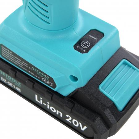 Foarfeca electrica de gradina cu acumulator 20V 2Ah, Detoolz DZ-SE148 [5]