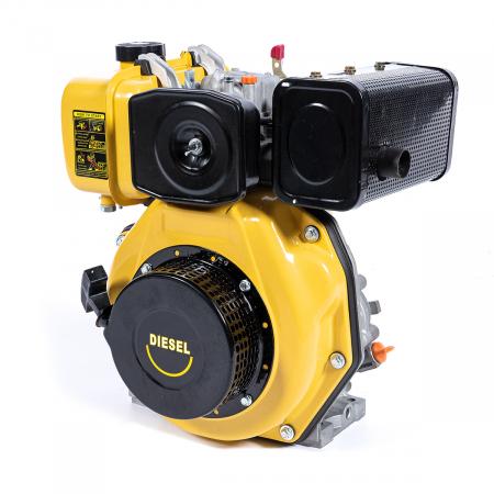 Motor DIESEL ( motorina ) Micul Fermier GF-0356, 10 CP, 4 timpi, 186FA, 418 Cc, 7.7 KW, 1300 Rpm [0]