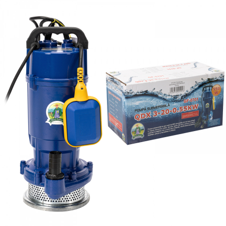 Pompa apa submersibila apa curata cu plutitor, 20m, 0,55kW Micul Fermier GF-0701 [2]