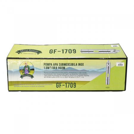 Pompa apa submersibila 60m inox 4SK-100 cu snec 1.8mc Micul Fermier GF-1709 [3]