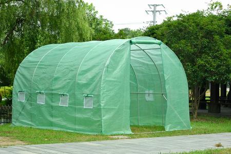 Sera polietilena pentru casa si gradina 400x200x200 cm 140g/mp UV4 , GF-2044 [1]