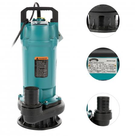 "Pompa apa submersibila, Micul Fermier GF-2050, QDX10-18M 0.75KW 2"" [1]"