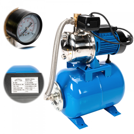 Hidrofor 0,75KW 24L AUTOJET-750S2 Micul Fermier GF-1881 [0]