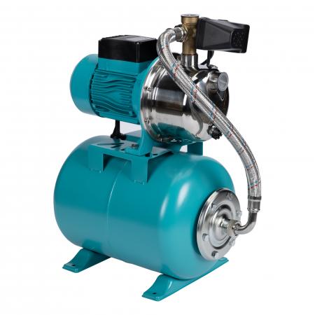 Hidrofor 0,75kW/1HP AUJET 100SS, bobinaj cupru Detoolz DZ-P103 [0]