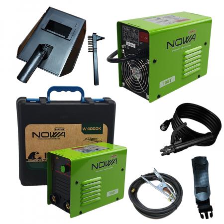 Aparat de sudura, invertor NOWA 400DK, 400Ah, valiza transport, accesorii incluse, cablu sudura 3m, afisaj digital [1]