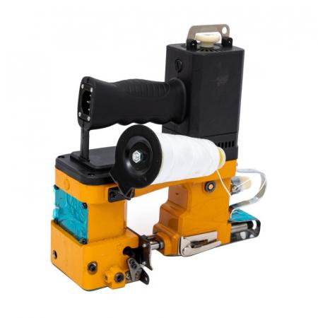 Masina electrica de cusut saci Micul Fermier, putere 210W, 800rpm, 1700-2000 imp/min, portocaliu/negru1