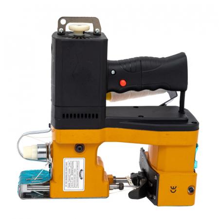 Masina electrica de cusut saci Micul Fermier, putere 210W, 800rpm, 1700-2000 imp/min, portocaliu/negru3