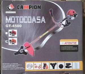 Pachet Motocoasa Campion 6 Cp,7 accesorii+Accesoriu taiat crengi la inaltime,model 20201