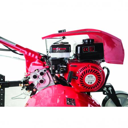 Motocultor pe benzina  7 CP, 2+1 viteze cu accesorii si far Raider RD-T07 [1]