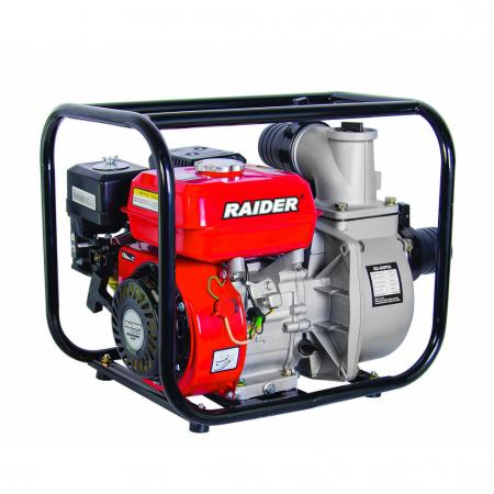 "Motopompa pe benzina 4.9kW 3"" RAIDER RD-GWP04, 3600 rotatii / minut, 4 timpi [0]"