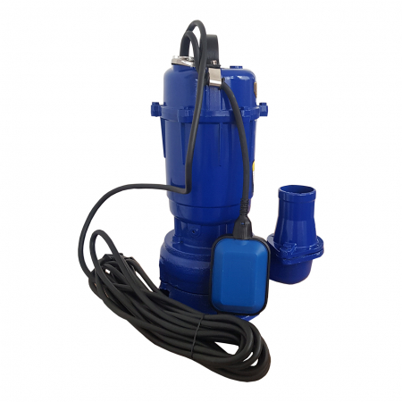Pompa apa murdara submersibila cu tocator si plutitor, DDT, WQCD, 2200 W, 8 m³/h [1]