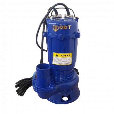 Pompa apa murdara submersibila cu tocator si plutitor, DDT, WQCD, 2200 W, 8 m³/h [0]