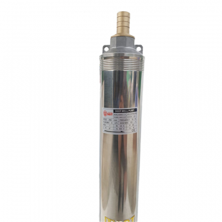 Pompa submersibila de mare adancime, DDT, 4SDM3-11, 1800 W, 11 turbine, Inox, 150m, bobinaj cupru [1]