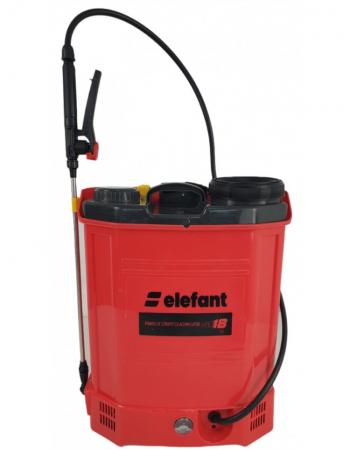 Pompa stropit electrica Elefant 18Litri, 5 Bar, reglaj presiune, vermorel cu baterie acumulator 12V [1]