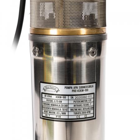 Pompa submersibila 65m PRO 4SKM-100 MF 2.7mc/h Micul Fermier GF-0744 [3]