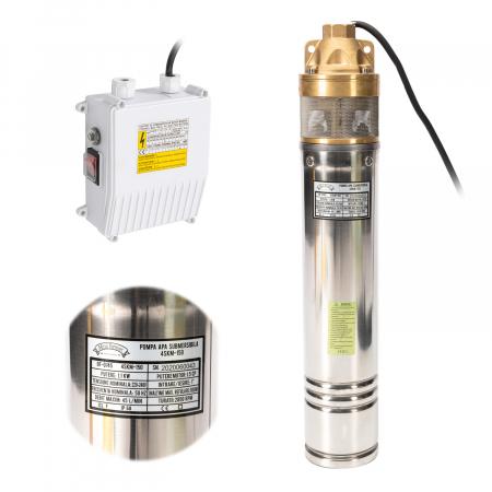 Pompa submersibila 95m PRO 4SKM-150 MF 2.7mc/h, Micul Fermier GF-0745 [0]