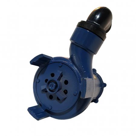Pompa submersibila apa murdara cu tocator si plutitor, DDT, WQD10, 1100W [2]