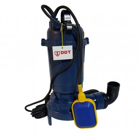 Pompa submersibila apa murdara cu tocator si plutitor, DDT, WQD10, 1100W [1]
