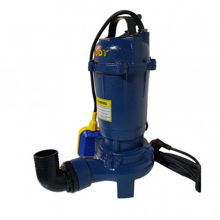 Pompa submersibila apa murdara cu tocator si plutitor, DDT, WQD10, 1100W [3]