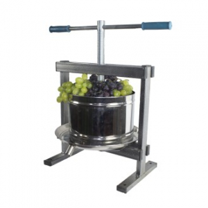 Presa,Teasc struguri si fructe,inox,capacitate 10 L,model 20203