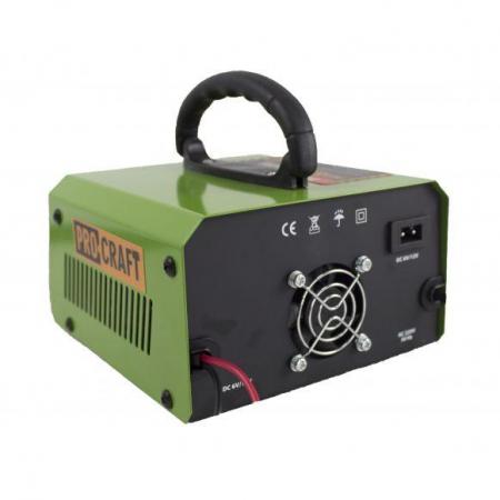 Redresor auto Procraft PZ10M, 165W, tensiune de iesire 6-12V [2]
