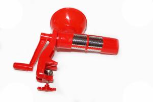 Masina de tocat rosii din plastic rosie [0]