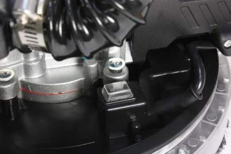 Slefuitor DETOOLZ DZ-C206 pentru pereti extensibil cu aspirator Ø225 750W [2]