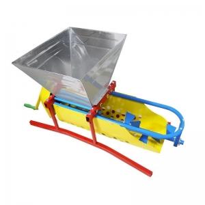 Zdrobitor de struguri manual cu desciorchinator,GF 1437,Cuva INOX,Capacitate 20L0