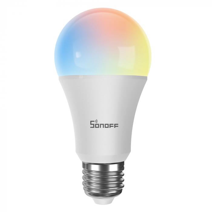 Bec Smart cu LED Sonoff B05-B-A60, RGB, Putere 9W, 806 LM, Control aplicatie [0]