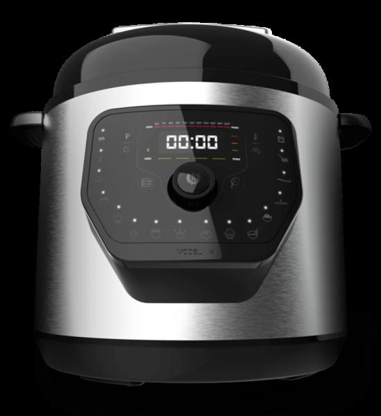 Multicooker cu gatire la presiune Cecotec GM H, 1000 W, 6 L, 19 de programe, Vas antiadeziv detasabil 11