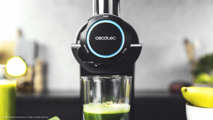 Storcator Cecotec Juice&Live 2000 EasyClean cu sisitem de presare la rece, tambur dublu de separare a sucului, silentios, 3 viteze, negru - Resigilat [6]