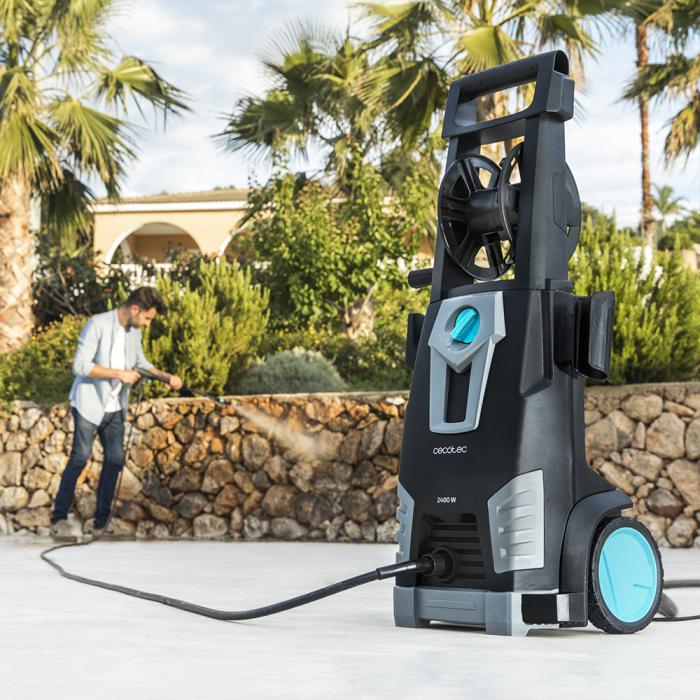 Aparat de spalat cu presiune Cecotec HidroBoost 2400 Home&Car, Accesorii incluse, 180 BAR, 480 L/h ,2400 W [8]