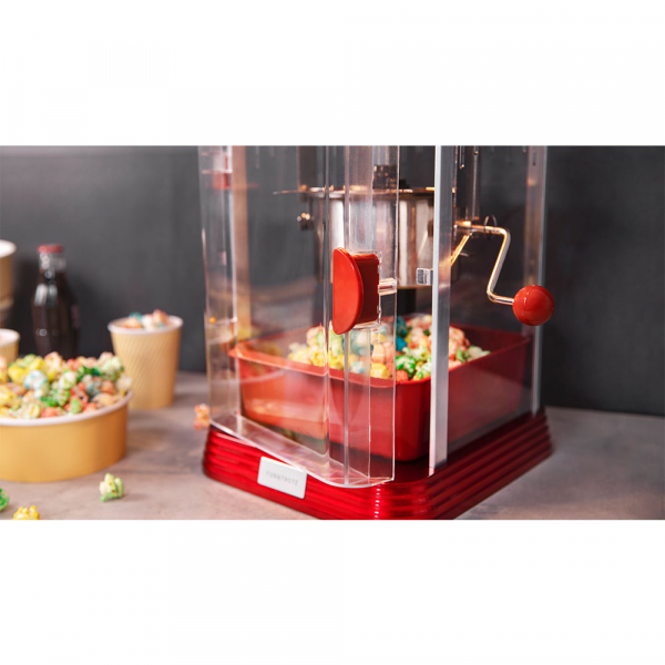 Aparat pentru popcorn, Cecotec Fun&Taste P´Corn Classic, 300W, inox, lumina interna [6]