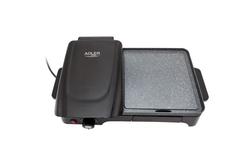 Gratar Grill Electric Adler AD 6608, Putere 2200W, Reglare Temperatura, Termostat [0]