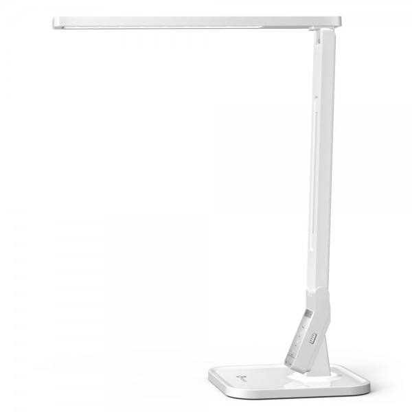Lampa de birou LED TaoTronics TT DL02 control Touch, 4 moduri, 14W, USB - Alba 0